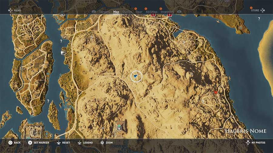 Assassin's Creed Origins guida agli Enigmi dei Papiri 13