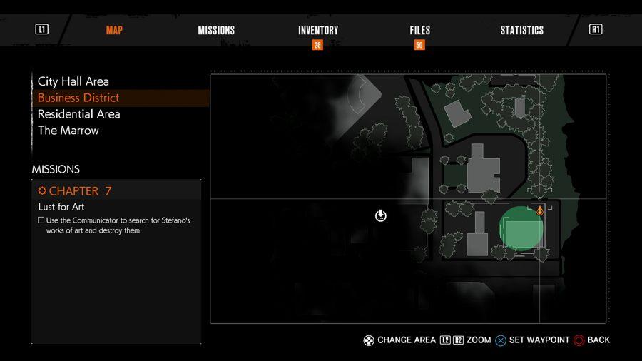 The Evil Within 2 Locker key 16