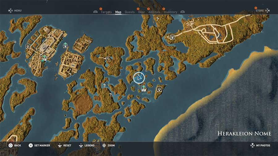 Assassin's Creed Origins guida agli Enigmi dei Papiri 15