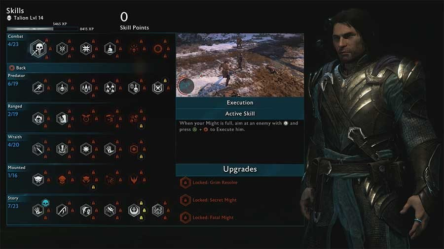 What Abilities To Pick/Level First In Middle Earth: Shadow Of War