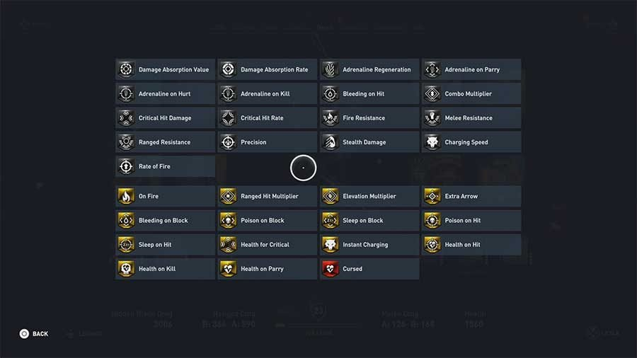 What Do Weapon And Armor Perks & Bonuses Do In Assassins Creed Origins