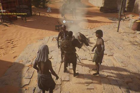 Who To give The Ring To In Precious Bonds – Assassins Creed Origins