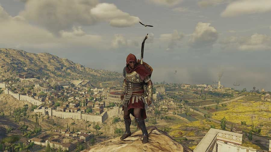 Best Outfits In Assassins Creed Origins - Roman Legionary