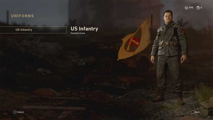 Call Of Duty WWII Uniforms Guide