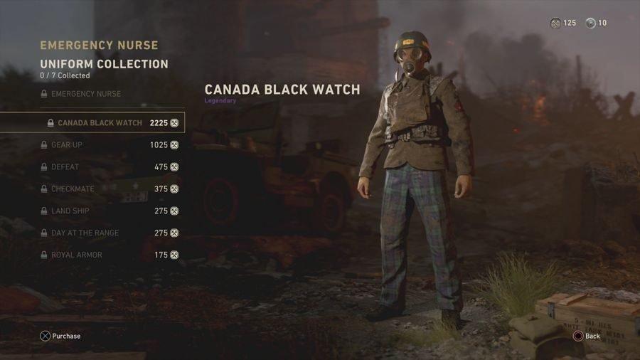 Canada Black Watch