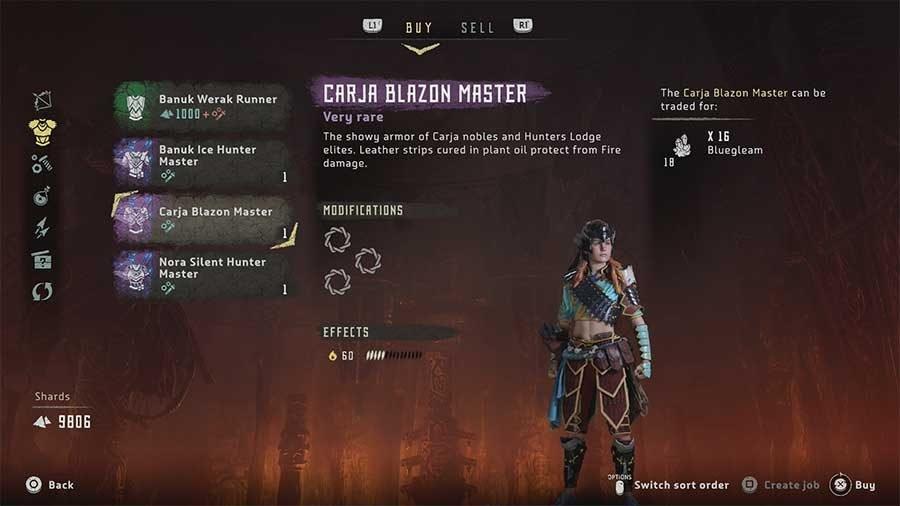 Carja Blazon Master
