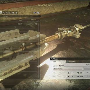 Final Fantasy XV: Comrades Weapon Remodeling Guide