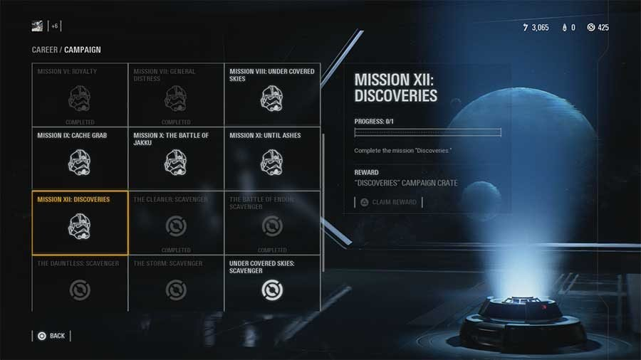Star Wars Battlefront 2 What's In Discoveries Campaign Crate