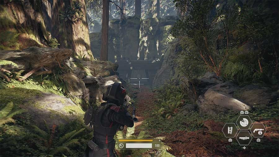The Battle Of Endor Hidden Item Collectible #3 Location