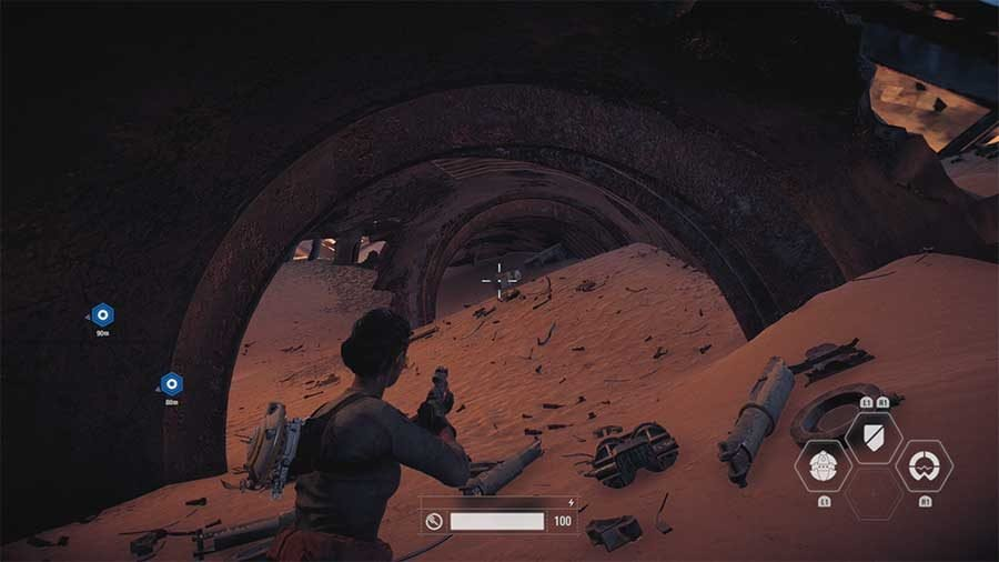 The Battle Of Jakku Hidden Item Collectible #2 Location