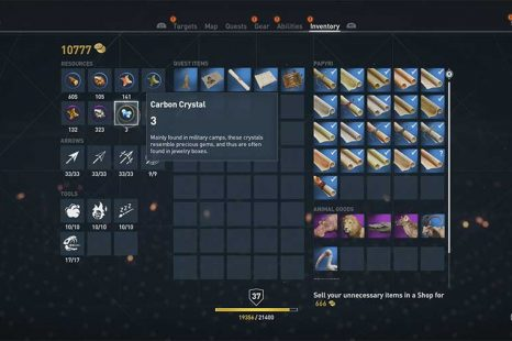 Where To Find Carbon Crystal In Assassins Creed Origins