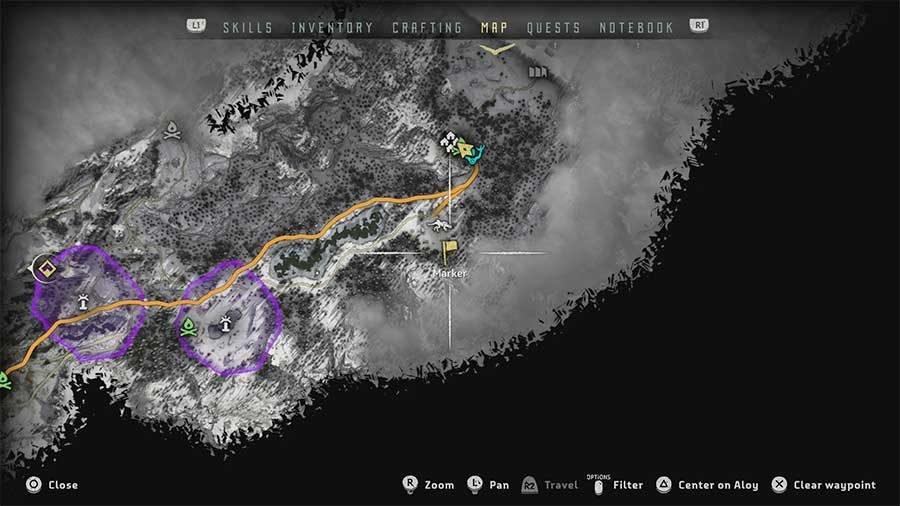 Where To Find Goats In Horizon Zero Dawn Frozen Wilds - Location 2
