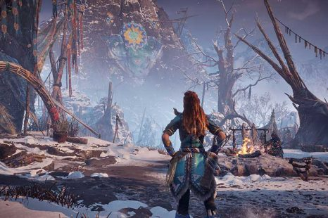 Where To Find The Hunting Ground In Horizon Zero Dawn Frozen Wilds