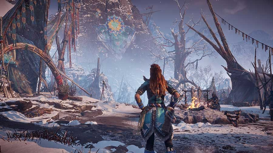 Where To Find The Hunting Lodge In Horizon Zero Dawn Frozen Wilds