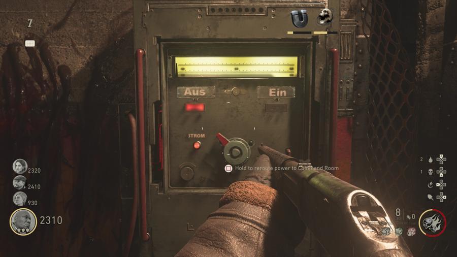 ww2 Zombies switches