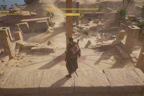 How To Solve Sun Dial Puzzle In Assassins Creed Origins