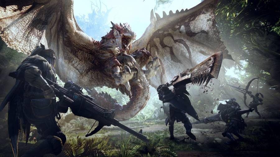 Monster Hunter World - Gamers Heroes