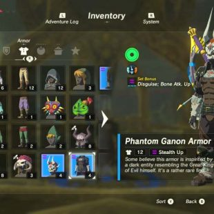 Where To Find The Dark Armor Set In Zelda Breath Of The Wild