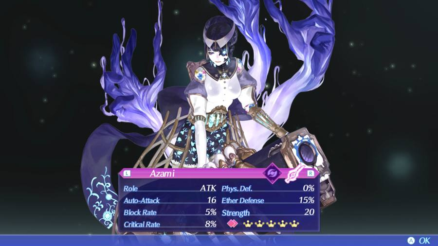 Xenoblade Chronicles 2 Azami Blade