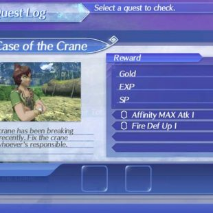 Xenoblade Chronicles 2 The Case Of the Crane Guide