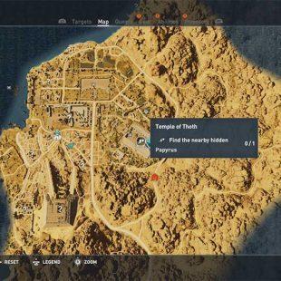 Assassins Creed Origins – Hidden Ones Papyrus Puzzle Guide
