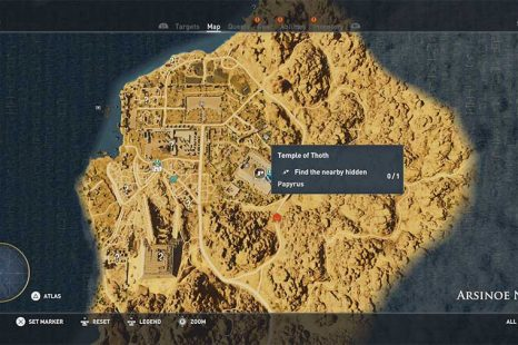 Assassins Creed Origins – Hidden Ones Papyrus Puzzle Guide