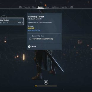 Assassins Creed Origins Incoming Threat Guide