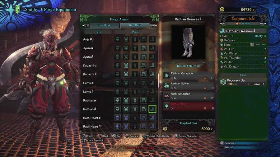 How To Get A Rathian Ruby In Monster Hunter World