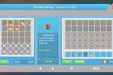 How To Get Hardwood & Hardwood Planks In My Time At Portia