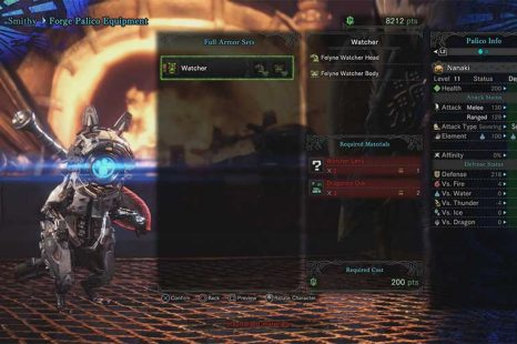 How To Get Horizon Zero Dawn Watcher Armor In Monster Hunter World