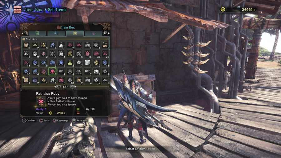 How To Get The Rathalos Ruby In Monster Hunter World