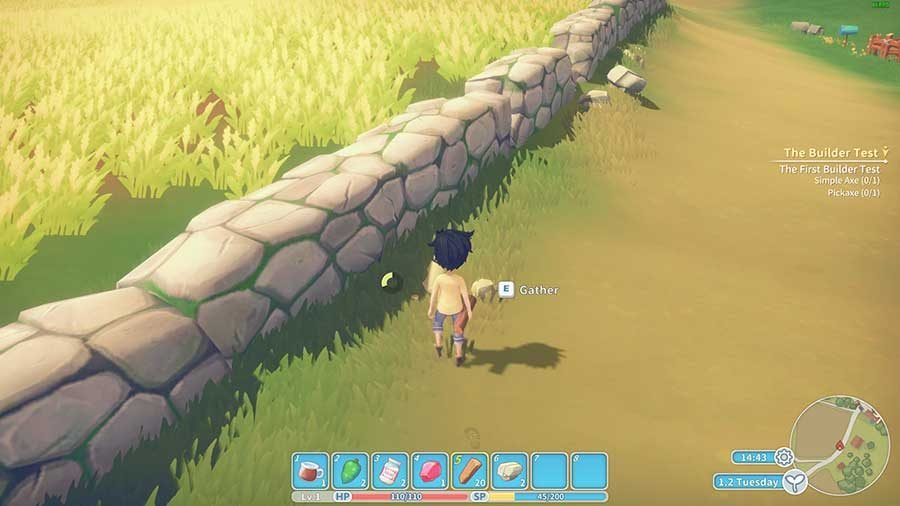 My Time At Portia The Builder Test Guide Stone