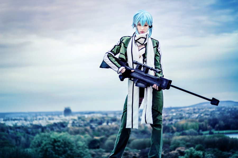 Sword Art Online Sinon Cosplay - Gamers Heroes