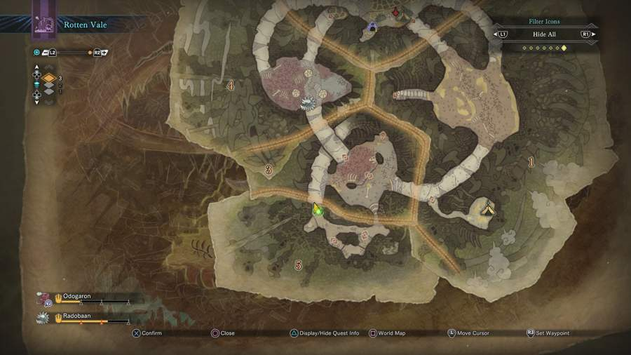 Where To Find Forgotten Fossils In Rotten Vale - Monster Hunter World 2