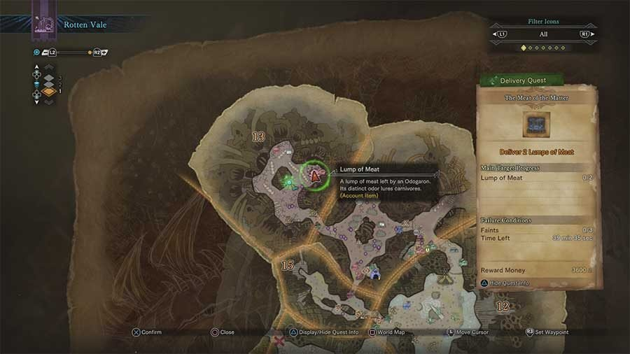Where To Find Lump Of Meat In Rotten Vale