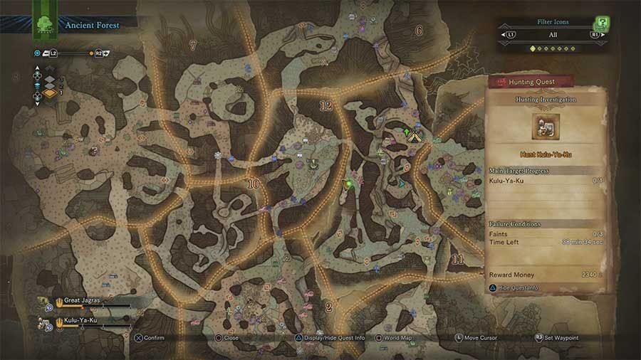 Where To Find Mosswine Hide In Monster Hunter World Location