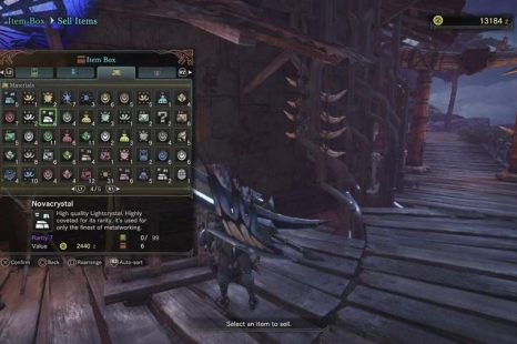 Where To Find Novacrystals In Monster Hunter World