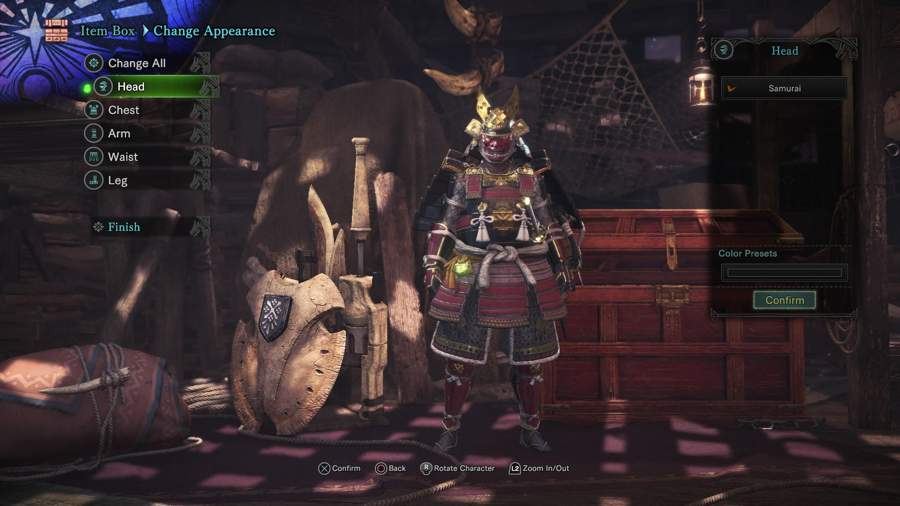 Where To Find The Samurai Set In Monster Hunter World