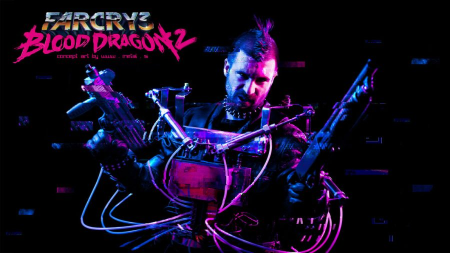 Far Cry 3 Blood Dragon Cosplay - Gamers Heroes
