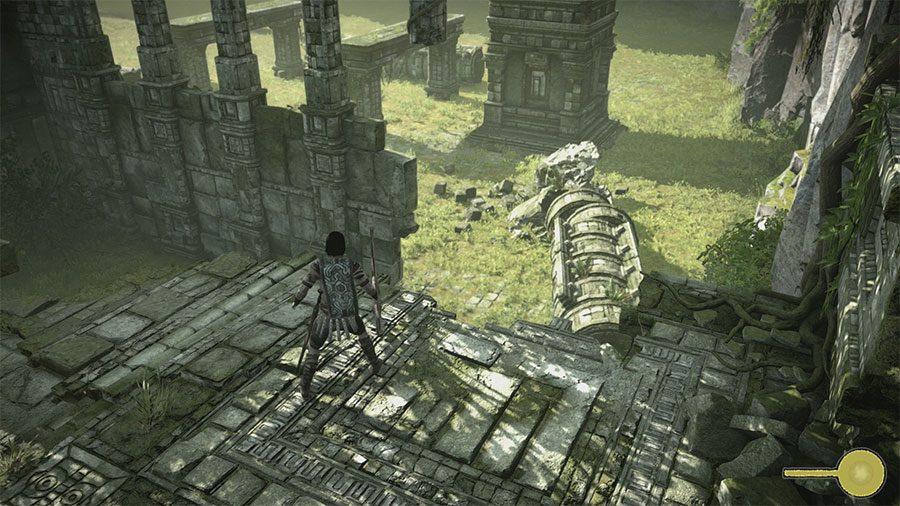 How To Defeat The 14th Colossus In Shadow Of Colossus Start