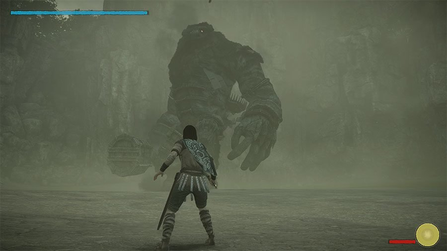 How To Defeat The First Colossus In Shadow Of The Colossus