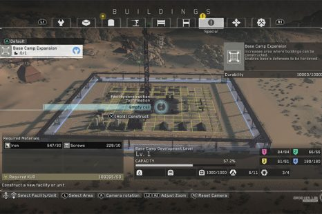 How To Expand Your Base In Metal Gear Survive