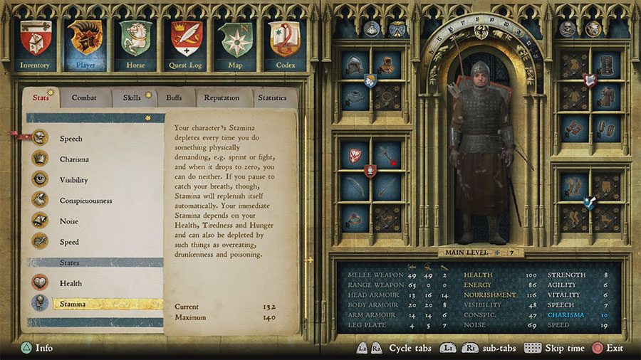 How To Increase All Stats, Combat, Skills In Kingdom Come Deliverance