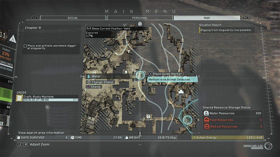 Metal Gear Survive Easy Food Trick