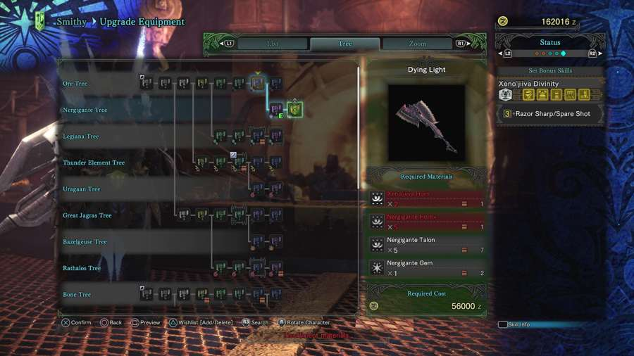 Where To Find A Xeno'jiiva Horn In Monster Hunter World