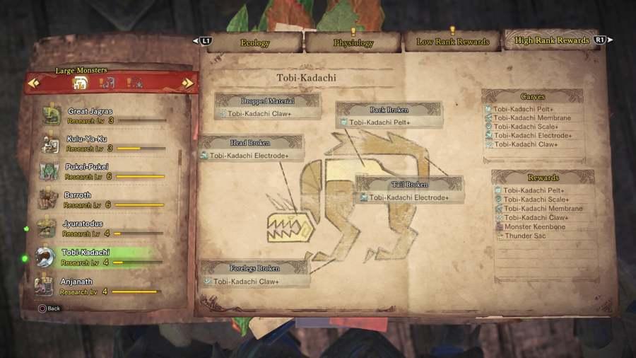 Where To Find Thunder Sacs in Monster Hunter World