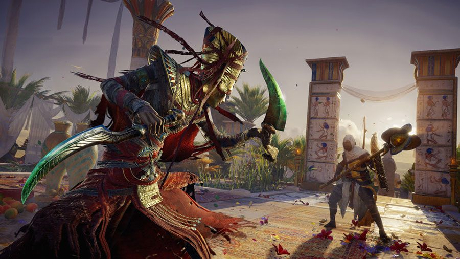 AC Origins Curse Of The Pharaohs Outfit Guide