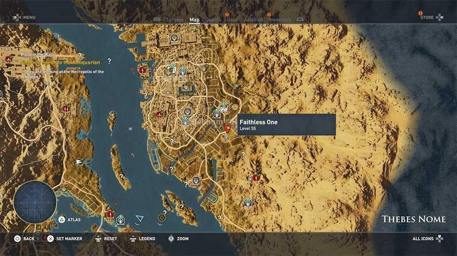 Ac Origins Curse Of The Pharaohs Shadows Of Anubis Guide