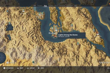 Assassins Creed Origins Light Among The Dunes Guide