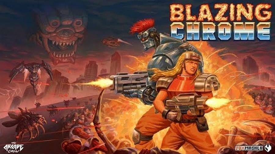 Blazing Chrome - Gamers Heroes